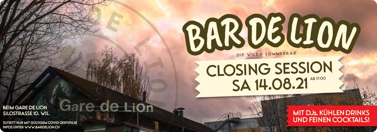 Bar de Lion Closing Session